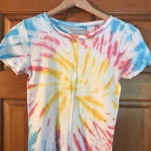 Tie-dye urban outfitters tee